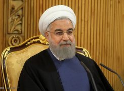 قدردانی دکتر روحانی ، از زائران اربعین حسینی
