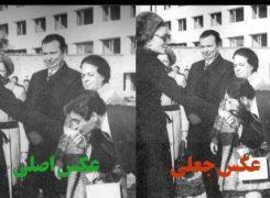 واکنش فریدالدین حداد عادل به عکس جعلی از پدرش