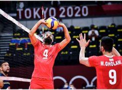 مردان والیبال ونزوئلا حریف بلند قامتان ایران نشدند